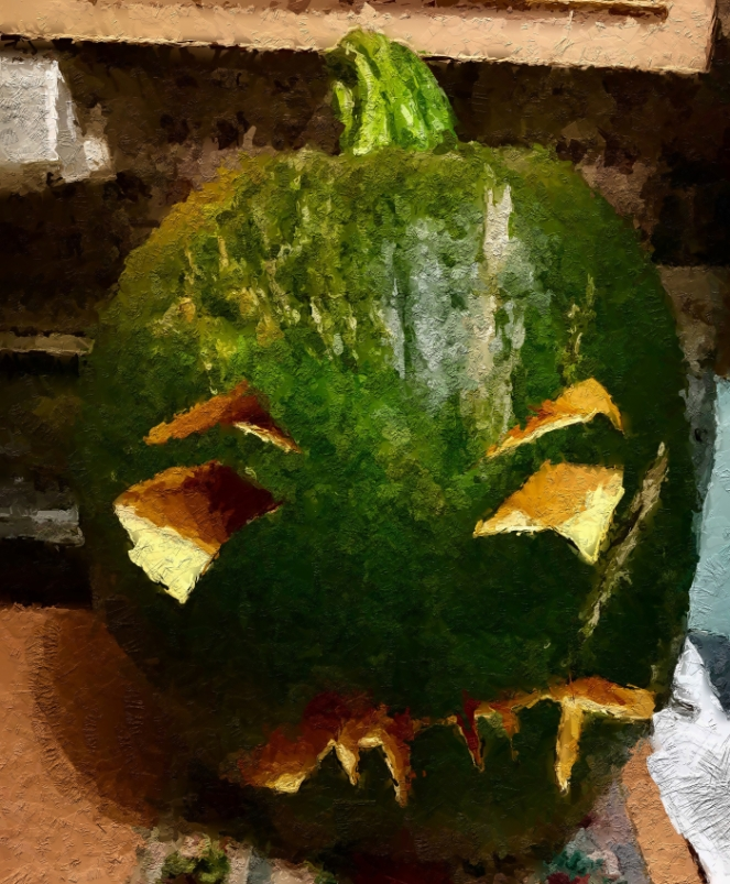 green-pumpkin