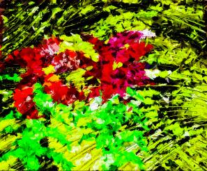Digital Fiber Flowers